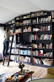 Bookcase Decorating Ideas Living Room 21 Decorating Ideas Every Bookworm Will Love Huffpost