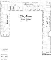 1a the mews first floor plan u2013 the british teddy bear festival