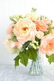 bouquet en papier best 25 paper flower arrangements ideas only on pinterest