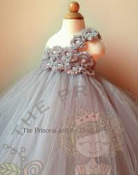 flower dress gray flower dress silver flower