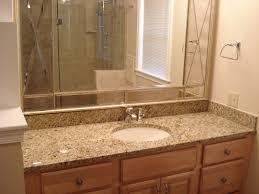 bathroom mirrors beveled bathroom mirror interior design for