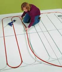 how to install radiant heat in floors at the home depot den