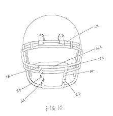 how to draw a football helmet step by step sports pop culture