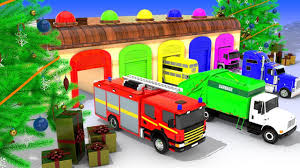 colors for children to learn with street vehicles color wooden toy