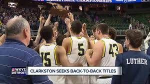 Seeking Titles Clarkston Seeking Back To Back State Titles Wxyz