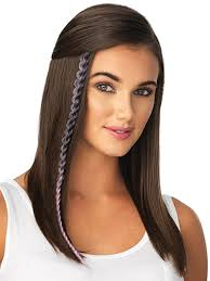 Color Hair Extension by Metallic Braid Extension Clip Ins Pop By Hairdo U2013 Wigs Com