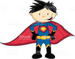 cute superboy hero character stock vector art 165526604 istock