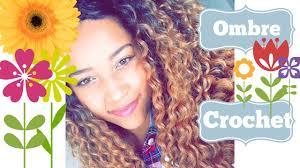 ombre crochet hairstyles crochet braids ombre tutorial youtube