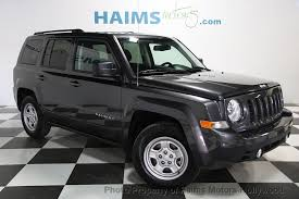 the jeep patriot 2017 used jeep patriot sport fwd at haims motors serving fort