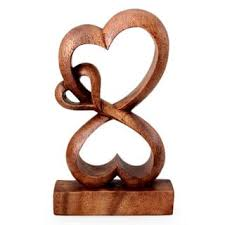 small wooden sculptures statues sculptures for less overstock