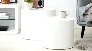 Argos Side Tables Side Table White Gloss Multi Use Sidetable White Gloss Bedside