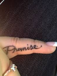small finger promise tattoo tattoomagz