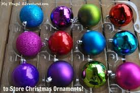 diy ornament storage my frugal adventures