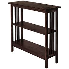 Mission Bookshelves by Solid Wood Bookshelves U0026 Bookcases Wooden Storage Shelves