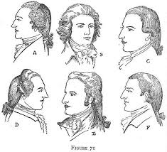 hair style of 1800 colonial clothing revolution and the new republic 1775 1800