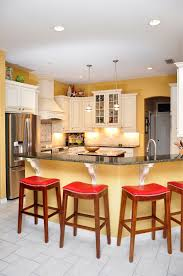 white cabinets dark granite stainless steel appliances custom