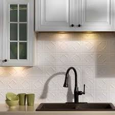 Fasade Backsplash Panels Reviews by Picture Of Fasade Backsplash Traditional 1 In Paintable White