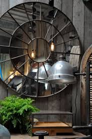 Wall Mirrors For Dining Room by Best 25 Industrial Wall Mirrors Ideas On Pinterest Industrial