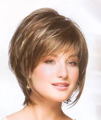 short hairstylescuts for fine hair with back and front view layered bob haircut back view millie by noriko ladies wigs