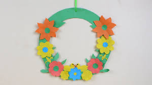 origami wall hanging easy wall hanging with color paper how to