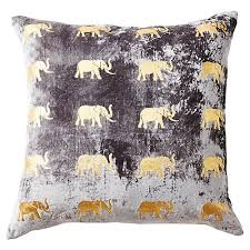 Linen Covers Gray Print Pillows White Walls Grey Decorative Pillows One