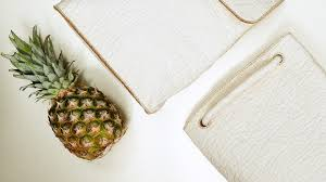 this gorgeous sustainable u201cleather u201d is made from pineapple waste