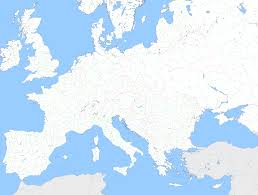 best photos of europe map template europe map blank with borders