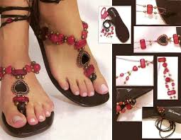 Decorate Flip Flops 10 Diy Flip Flop Projects How To Embellish Your Sandals With Beads