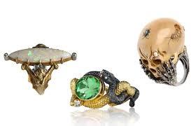 halloween rings spider skull ring alain r truong
