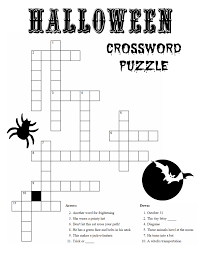 crossword kid halloween activities u2013 halloween wizard