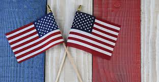red white and blue americana home decor under 50