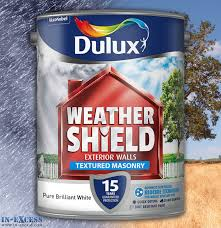 dulux weather shield exterior walls masonry paint textured pure