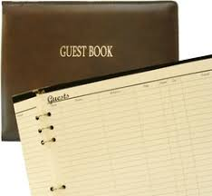 Leather Wedding Guest Book Italian To Faux And Beyond Leather Guest Books And More Available