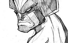 drawings of wolverine drawing pencil