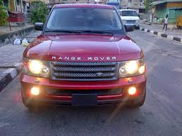 purple range rover 2007 model range rover sport hse for sale in lagos super neat