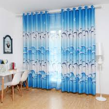 Teal Blackout Curtains Compare Prices On Blue Curtain Panels Online Shopping Buy Low
