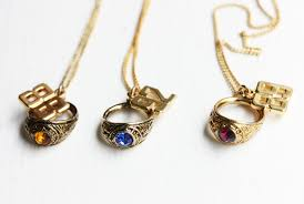 necklace charm ring images Class ring necklace ring necklace class ring class ring jpg
