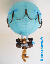 luminaire chambre enfants le montgolfiere enfant idees montgolfière