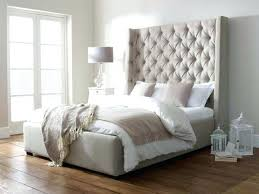King Size Headboard And Footboard Sets by Tall Upholstered Headboard King U2013 Skypons Co