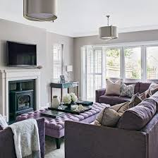 Living Room With Purple Sofa Purple Living Room Coma Frique Studio Af6cd4d1776b