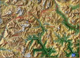 Dolomites Italy Map by Dolomite Pass Map