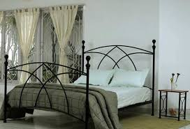 Ideas For Antique Iron Beds Design Unique Metal Beds Remodelling With Home Security Decor