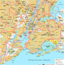 New York Map Us New York On Map Of Us You Can See A Map Of Many Places On The