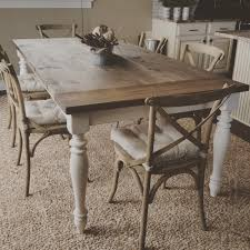 handmade dining room table gorgeous handmade rustic farmhouse table by modernrefinement on