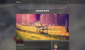 html template obscura free responsive html template