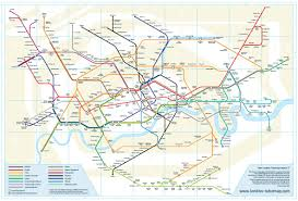 London Metro Map by New Underground Map Joe Blogs
