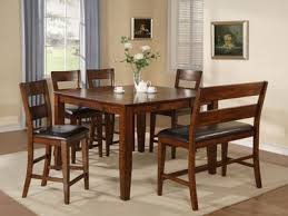 counter height dining table with bench steinhafels amber 5 pc counter height dining set