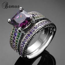 Walmart Wedding Rings Sets For Him And Her by Jewelry Rings Online Get Cheap Purple Wedding Ring Sets