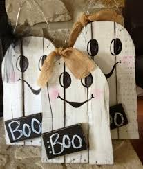 Halloween Arts And Crafts Projects by Hanging Ghosts 24 95 Each Halloween Crafts To Make Pinterest