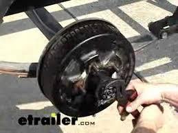 remove and reinstall a trailer hub review etrailer com youtube